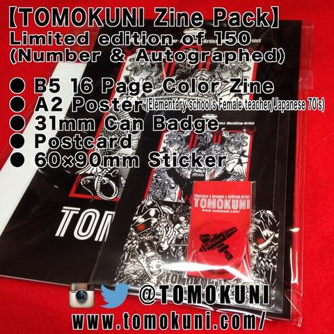 TOMOKUNI Zine Pack