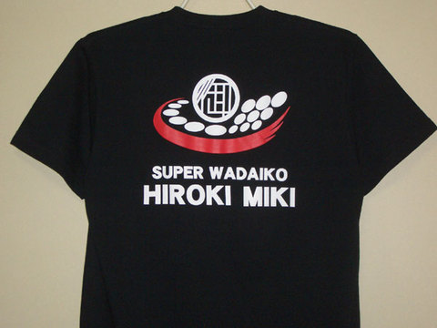 御木裕樹ロゴTシャツ101B-Sサイズ