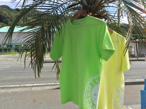 オリジナルTシャツ<circle>~ライムグリーン~