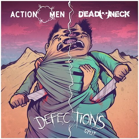 Actionmen & Deadneck : Defection Split CD