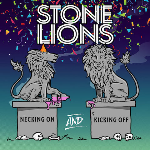 Stone Lions : Necking On And Kicking Off CD