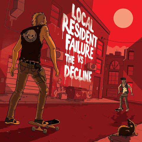 "Local Resident Failure vs The Decline : Split 7"""