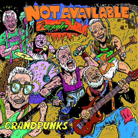 Not Available : Grandpunks CD