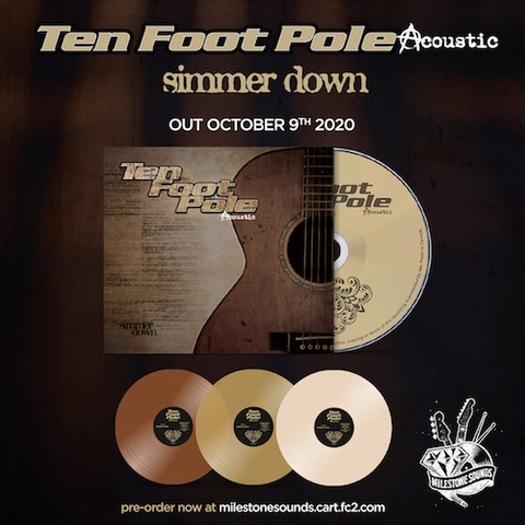 Ten Foot Pole : Simmer Down CD