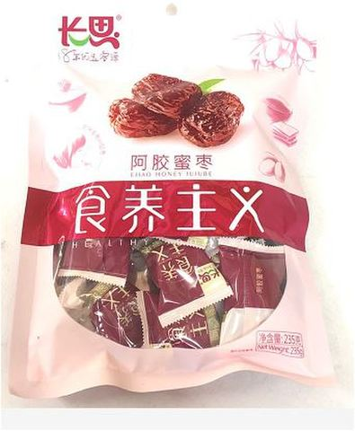 阿胶蜜枣(大袋内小袋独立包装)180g