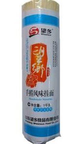望乡 手擀风味挂面 卷面 - 中華そば 平麺 1000g
