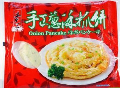 台湾手工葱酥抓饼 手抓饼 - ねぎパンケーキ 5枚入