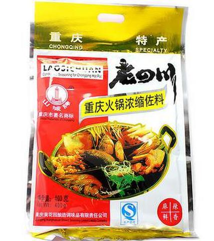 老四川 火锅料-火鍋の素 400g