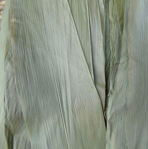 新粽叶 干粽叶 烘干叶子 约50片 -  ちまき用笹の葉 50枚入