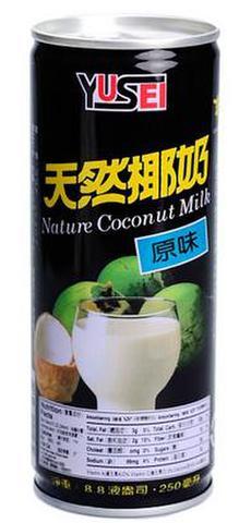 台湾巧口 天然椰奶 ココナッツミルクジュース 250ml