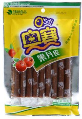 奥赛 果丹皮 - サンザシ菓子  160g