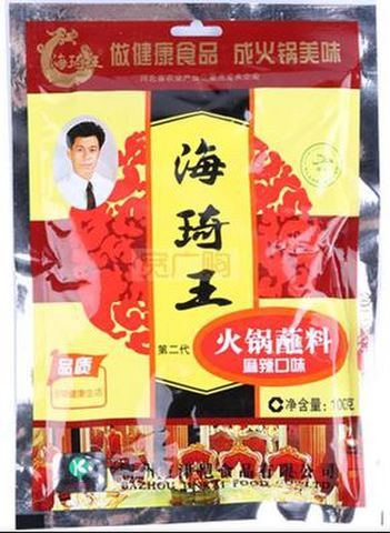 海琦王 火锅蘸料 麻辣口味-火鍋のタレ 100g