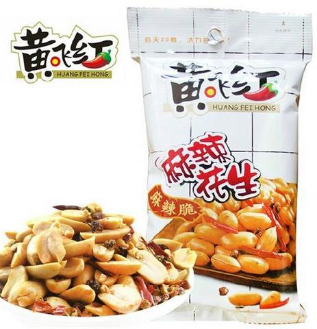 黄飞红麻辣花生 - マーラーピーナッツ 70g