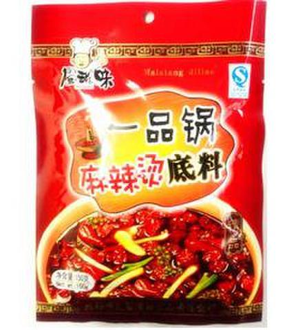 一品锅 麻辣烫火锅料-マーラータンの素 150g
