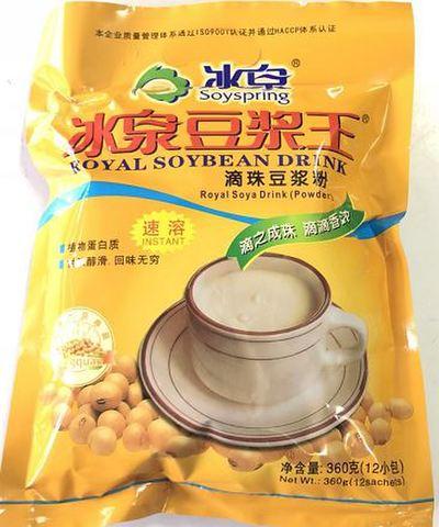 冰泉 豆浆王 速溶豆浆粉 豆奶粉 360g(12小包)