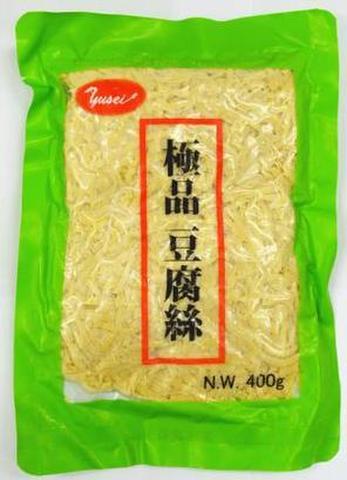极品豆腐丝 干豆腐丝 - かんとうふ豆腐麺 400g