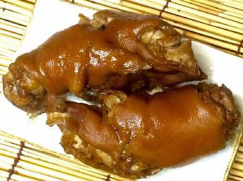 熟食 五香卤猪爪酱猪蹄 2个装