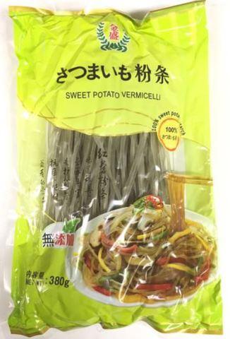 地瓜红薯粉条-サツマイモ春雨(平) 380g