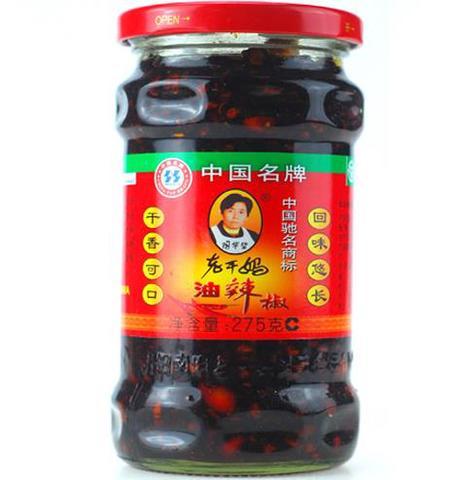 老干妈 油辣椒-食べるラー油  275g