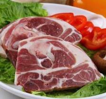 冷冻羊大腿肉 无骨 - 羊モモ肉 1000g
