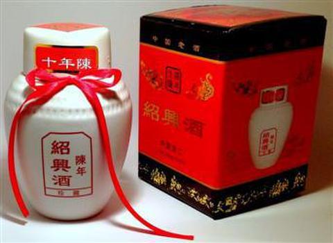 绍兴酒 十年陳 - 紹興酒 500ml 16.5度