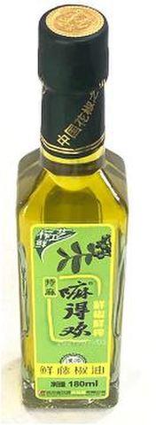 藤椒油(麻油)-青山椒油 180ml