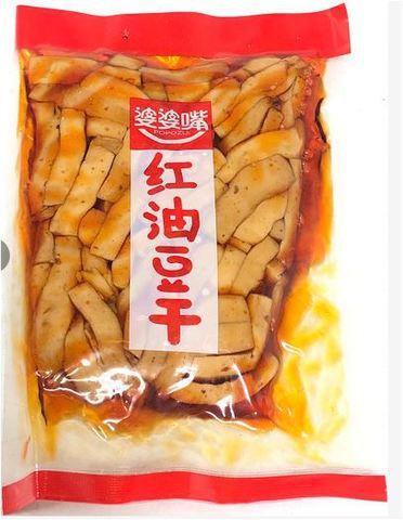 婆婆嘴 红油豆干  - 干し豆腐 マーラー味 190g