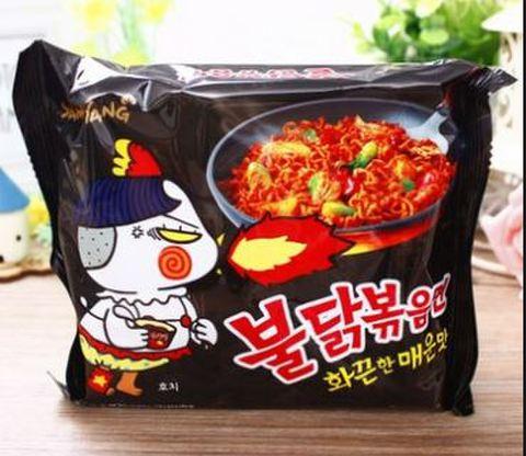 韩国火鸡面 方便面- 韓国激辛ラーメン140g インスタントラーメン
