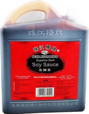 珠江桥 老抽王酱油-珠江橋 醤油 1.8L