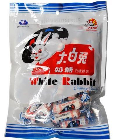 大白兔奶糖 - 兎ミルクキャンディ 108g