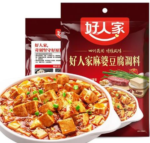 好人家 麻婆豆腐调料 清真-マーボー豆腐の素 80g