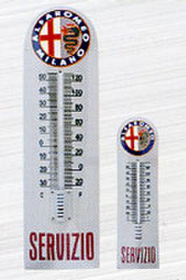 温度計付きエナメルプレートLサイズ