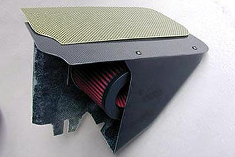 ダイレクトエアクリーナーキット(カーボン製) ELE-1007/I