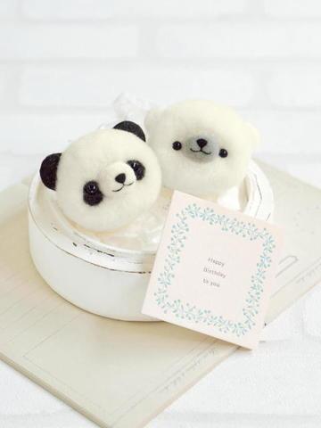 ハマナカ パンダ・白くま