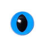 12mm  ブルー  キャッツアイ