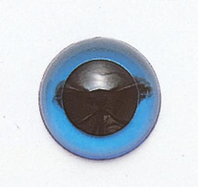 10.5mm  プラスチックアイ クリスタルカラー  クリスタルブルー