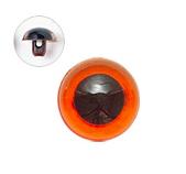 9mm  プラスチックアイ クリスタルカラー  クリスタルアンバー