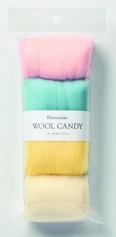 ハマナカ ウールキャンディ4色セット パステルカラー