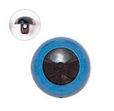 13.5mm  プラスチックアイ マットカラー  ブルー