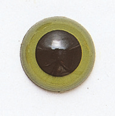 10.5mm  プラスチックアイ マットカラー  グリーン