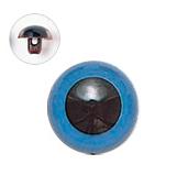 12mm  プラスチックアイ マットカラー  ブルー