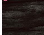 植毛ストレート アイボリーブラック ハマナカ リアル羊毛フェルト