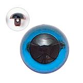 15mm  プラスチックアイ クリスタルカラー  クリスタルブルー