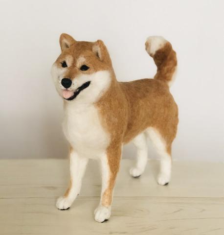 『柴犬』作家:岡島なつみ 作品