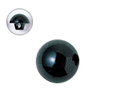 6mm  プラスチックアイ  ブラック