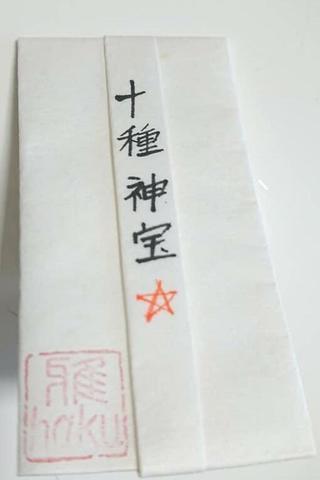 神宝図「十種神宝」大型御守袋タイプ~一生もの