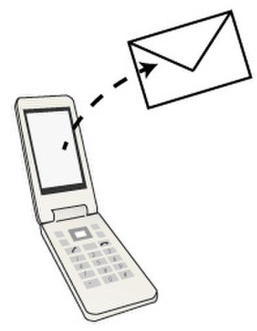 事務所携帯よりメール転送5回分