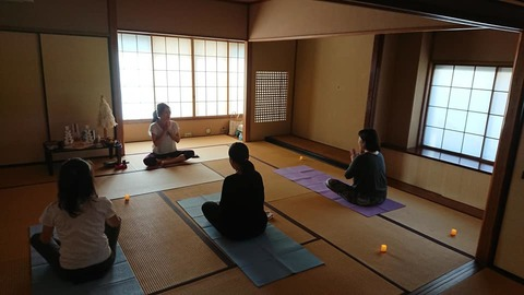 10/14(日)開催☆yungヨガ 横浜クラス