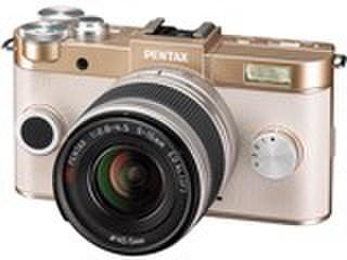 PENTAX Q-S1 ズームレンズキット [シャンパンゴールド×クリーム]