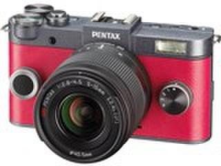 PENTAX Q-S1 ダブルズームキット [ガンメタル×カーマインレッド]
